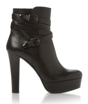 Dune €220 - Sample Buckle Detail Boots