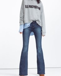 Zara €39.95 - Mid-Rise Flared Jeans http://bit.ly/250jkyB