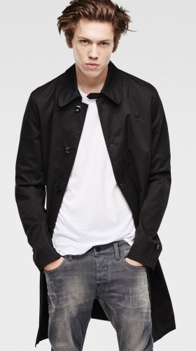 G Star @ Arnotts €200 - James Jacket Black http://bit.ly/1Vrrkkx