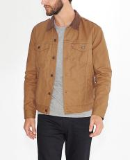 Levis €155.75/£115 - The Waxed Canvas Trucker Jacket http://bit.ly/1PO0C45