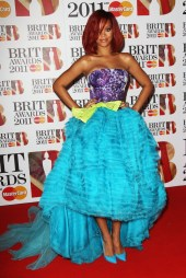 2011 Brit Awards - wearing Christian Dior Couture