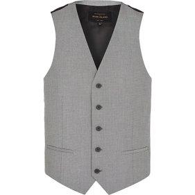 Light Grey Single Breasted Waistcoat €32 - http://eu.riverisland.com/men/suits/waistcoats/Light-grey-single-breasted-waistcoat-274894