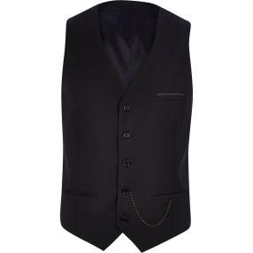 Black Single Breasted Waistcoat with Chain Detail €45 - http://eu.riverisland.com/men/suits/waistcoats/Black-single-breasted-chain-waistcoat-278035