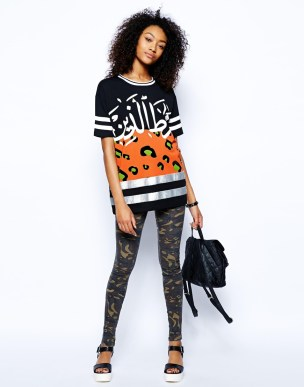 ASOS €39.33 - Tunic with Sequin Panel and Arabic Slogan http://tinyurl.com/mzet32a