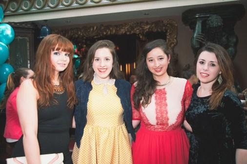 (L-R) Caoimhe, Fíona, myself & Chloë