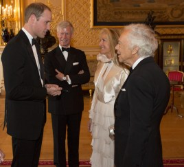 H.R.H. Prince William, Ian Molson, Ricky & Ralph Lauren