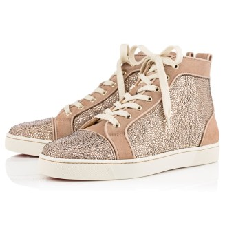 Christian Louboutin €2,095 - Louis Veau Velours Strass http://bit.ly/1nCSdVf