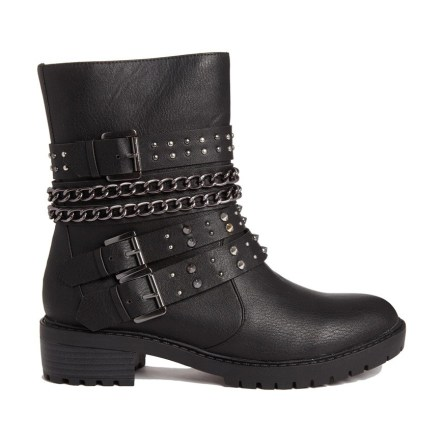 London Rebel @ ASOS €63.98 - Strap Biker Boots http://bit.ly/1DRDQDS