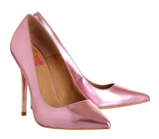 Office €87/£65 - On Tops Metallic Pink Pumps http://bit.ly/1r95SlE