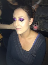 Urban Decay beauty deomnstration