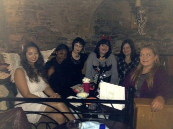 (L-R) Myself, Filomena, Marina, Nadine, Darragh & Gail