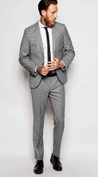 Noose & Monkey @ ASOS from €90 - Mini Check Suit http://bit.ly/1LAKsY8