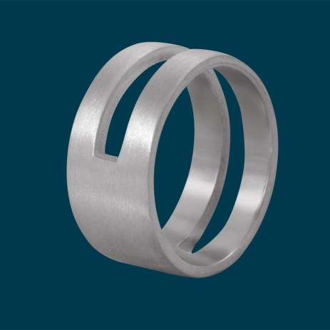Edge Only by Jenny Huston €125 - Parallel Ring http://bit.ly/ZXMtgW