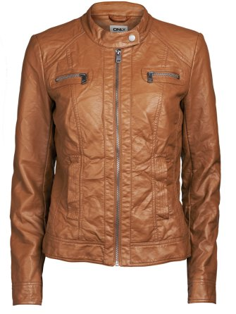 ONLY €39.95 - Zip PU Jacket http://bit.ly/1zPwLkb
