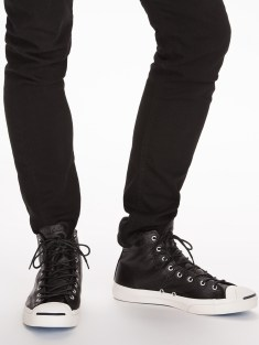 Converse €109.95 - Jack Purcell Leather Mid http://bit.ly/1vsvL7u