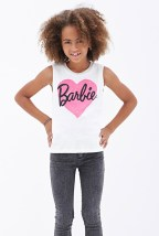 Forever 21 €10.45 - Barbie Heart Tank Top (Kids) http://bit.ly/14mEKed