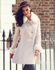 Lipsy €107 - Faux Fur Trim Princess Coat http://bit.ly/1u2J9Yu