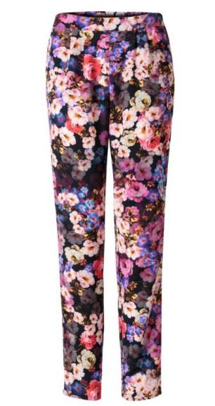 Poem @ Oliver Bonas - Dutch Master Floral Print Trouser http://bit.ly/1yA7zeX