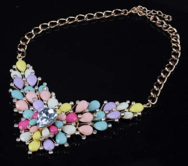 Glitz N Pieces €21 - Blossom Necklace http://bit.ly/1AMCPdy