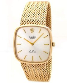 Rolex @ Invaluable €401 - 18K Yellow Gold Cellini Watch http://bit.ly/16lW2tc