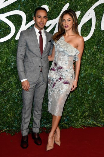 Lewis Hamilton & Nicole Scherzinger
