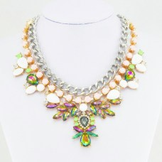 Glitz N Pieces €19 - Sparkle Colourful Necklace http://bit.ly/1w3er7i