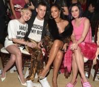 Miley Cyrus, Jeremy Scott, Rihanna, Katy Perry
