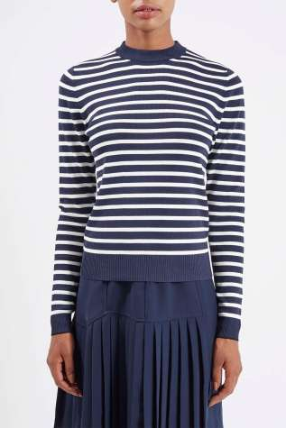 Boutique @ Topshop €68 - Striped Knit Jumper http://bit.ly/1kFZfLe