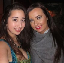 Myself and Emma of Mastering Your Makeup
