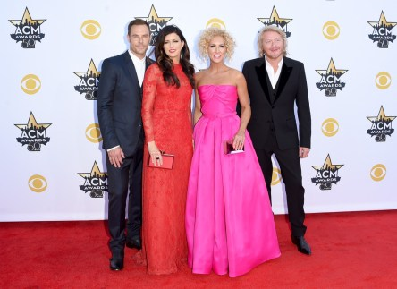 Jimi Westbrook, Karen Fairchild, Kimberly Schlapman and Phillip Sweet of Little Big Town