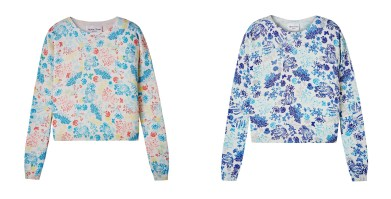 Henry Todd £395/€559 - Floral-Print Knitted Sweater (not yet available online)