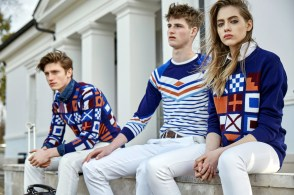 Henry Todd £450/€636.60 - Decorative Ensign Sweater (not yet available online)