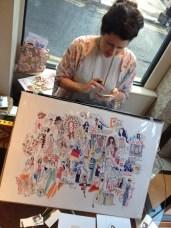 Niki of Miss Magpie Fashion Spy illustrations