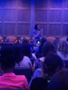 Alison Canavan giving her talk
