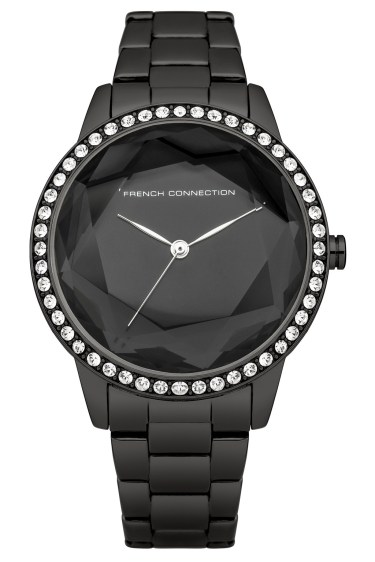 French Connection €105 - Polished Steel & Crystal Bracelet Watch http://bit.ly/1N23IQi