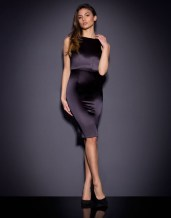 Agent Provocateur €795 - Mona Silk Midi Dress http://bit.ly/1MrEj6u