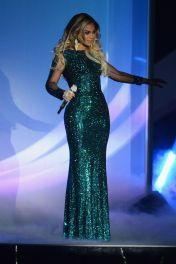 2014 BRIT Awards - wearing Vrettos Vrettakos Couture