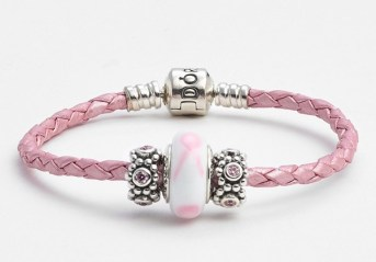 Pandora €149.35 - Breast Cancer Awareness Charm Bracelet Set http://bit.ly/1OzPDfM