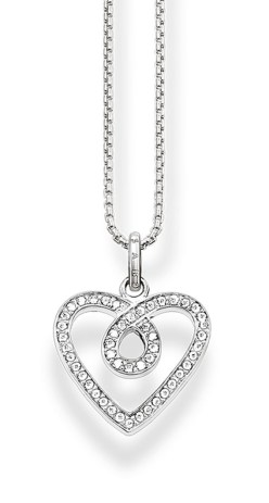Thomas Sabo €98 - Pavé Eternal Love Necklace http://bit.ly/21J6O52
