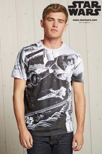 Next €31 - Star Wars T-Shirt http://bit.ly/1QFrLbS