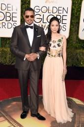 Terrence Howard & Mira Pak