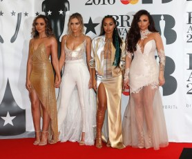 (L-R) Jade Thirlwall, Perrie Edwards, Leigh-Anne Pinnock and Jesy Nelson of Little Mix
