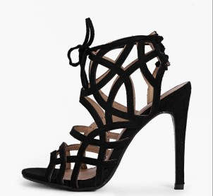 Boohoo €41 - Alice Tie Back Cage Heels http://www.boohoo.com/new-in-shoes/alice-tie-back-cage-heels/invt/dzz83889