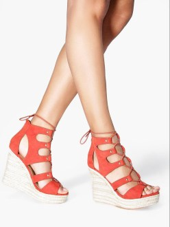 Boohoo €38 - Anna Espadrille Ghillie Wedges http://www.boohoo.com/new-in-shoes/anna-espadrille-ghillie-wedge/invt/dzz87869