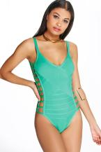 Boohoo €34 - Cyprus Boutique Bandage Cut Out One Piece http://bit.ly/28ILNkP