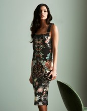 Julien Mcdonald Oriental Print Dress