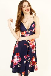 AX Paris €15 - Strappy Floral Midi https://www.dresses.ie/dress-ax-paris-strappy-floral-midi-skater-dress-D056187/