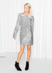 & other Stories €175 - Sequin Dress http://bit.ly/2e9W6At