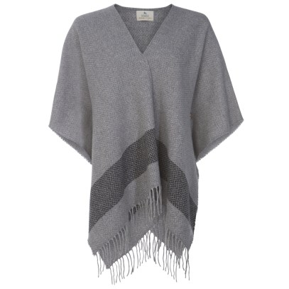 Magee 1866 €190 - Grey Tweed Eske Cape http://bit.ly/2ehFby7