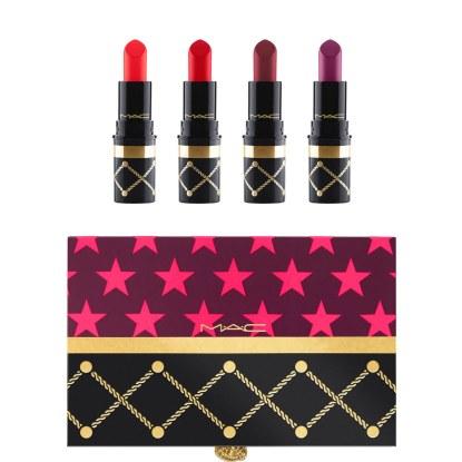 MAC Cosmetics, €35 - Nutcracker Sweet Red Lipstick Kit http://www.brownthomas.com/beauty/make-up/lips/nutcracker-sweet-red-lipstick-kit/77x1832xs2h4y60000.html